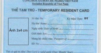Làm thẻ tạm trú cho khách Hàn
